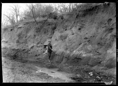 Fieldwork in Folsom, New Mexico