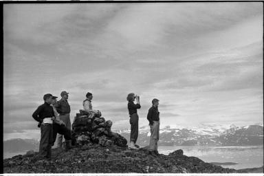 Fieldwork in Newfoundland and Labrador, Canada.