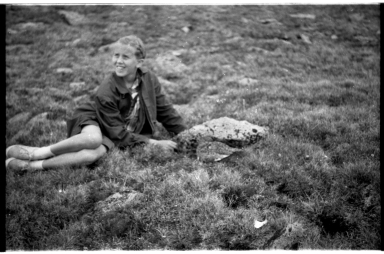 Young Girl and Ptarmigan