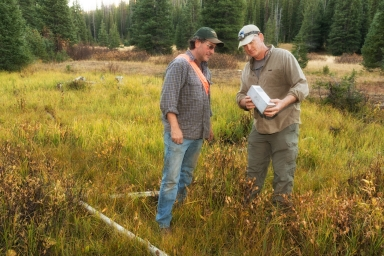 Zoology fieldwork with Drs. John Demboski and Scott Sampson
