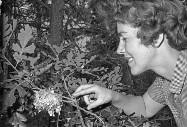 Patricia Bailey Witherspoon with Bird