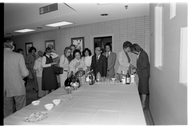 Visit by members of the Japanese Association of Museums