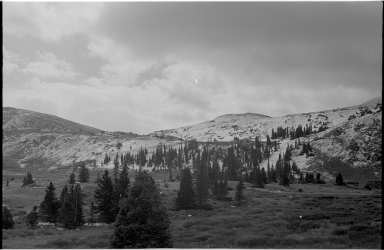 Cottonwood Pass Scenery