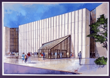 Artist Rendering of Musuem