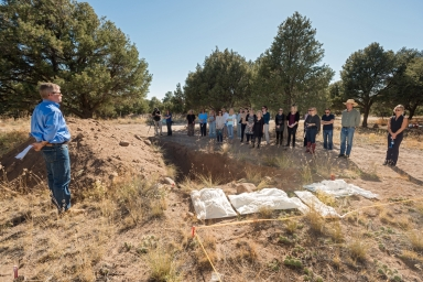 Reburial Ceremony in Crestone, Colorado