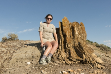 Fieldwork along the North Dakota and Montana state line looking for the KT Boundary