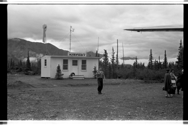 Airport at Denali National Park