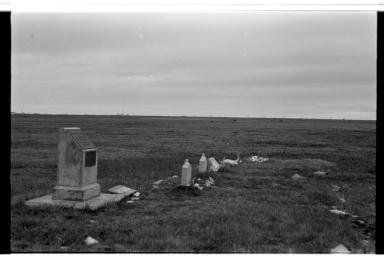 Gravesite in Barrow, Alaska