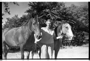 Ila Healy and Horses