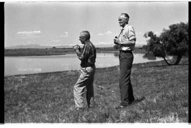 Fred Kent and Robert Falla