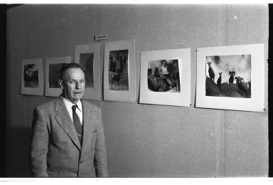 Albert Rogers at Exhibit