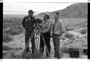 Jack Murphy on Gunnison Island, Utah