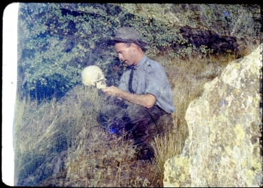 Archaeological fieldwork of Betty and Harold Huscher