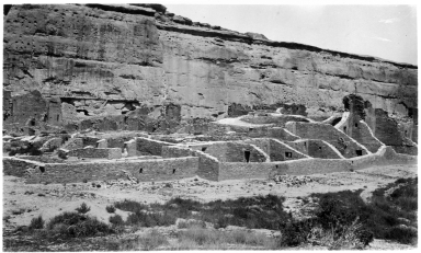 Ruins at Chaco Culture National Historical Park
