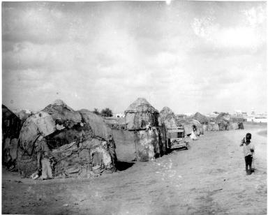 Native village outside of Djibouti City, Djibouti