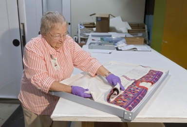 Conservation Work: Making boxes