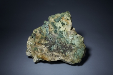 Brochantite and malachite