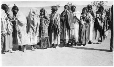 Portrait of Ute Mountain Ute women