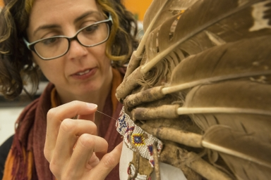 Re-housing the Plains Nations Clothing and Accessories from the Anthropology Collection