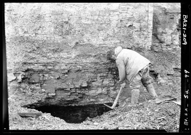 Eskimo coal miner