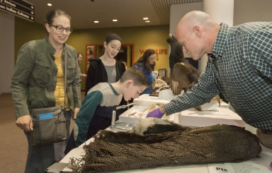 Science on the Spot with curator of Ornithology Garth Spellman