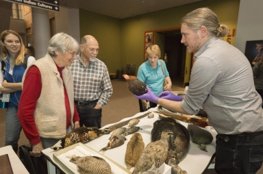 Science on the Spot with Zoology Collections Assistant Andrew Doll