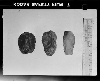 Lithics from Fremont site
