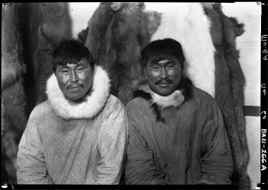 Portrait of Eskimo men