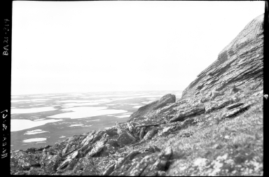 Bering Strait from Cape Mountain