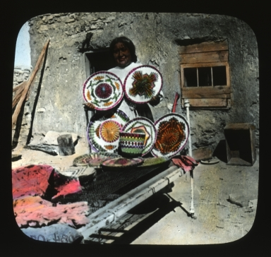 Basketmaker with baskets