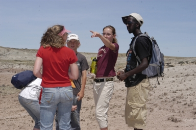 Teen Science Scholars in the Field