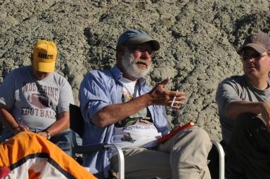 Earth Scienes Fieldwork with Teen Science Scholars in Buck Springs Wyoming 6/23/2009