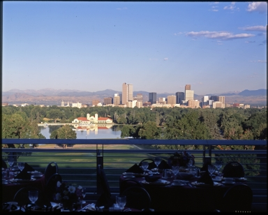 Denver Skyline from Sky Terrace