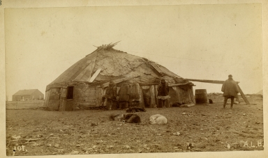 Siberian Native's House