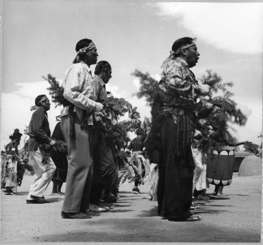 San Ildefonso Pueblo, Corn Dance, Chorus