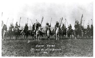 Plains Indians on Horses