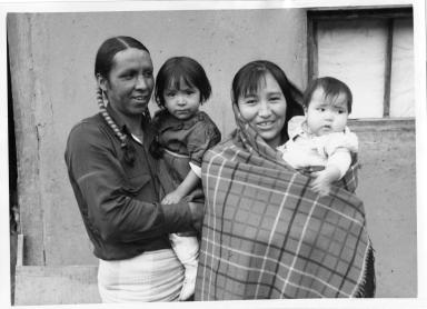 Taos Pueblo Family