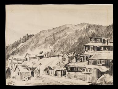 Old Mine Buildings