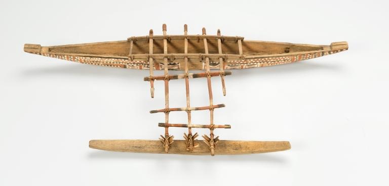 Melanesian Miniature Canoe