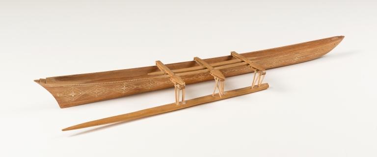 Samoan Outrigger Canoe