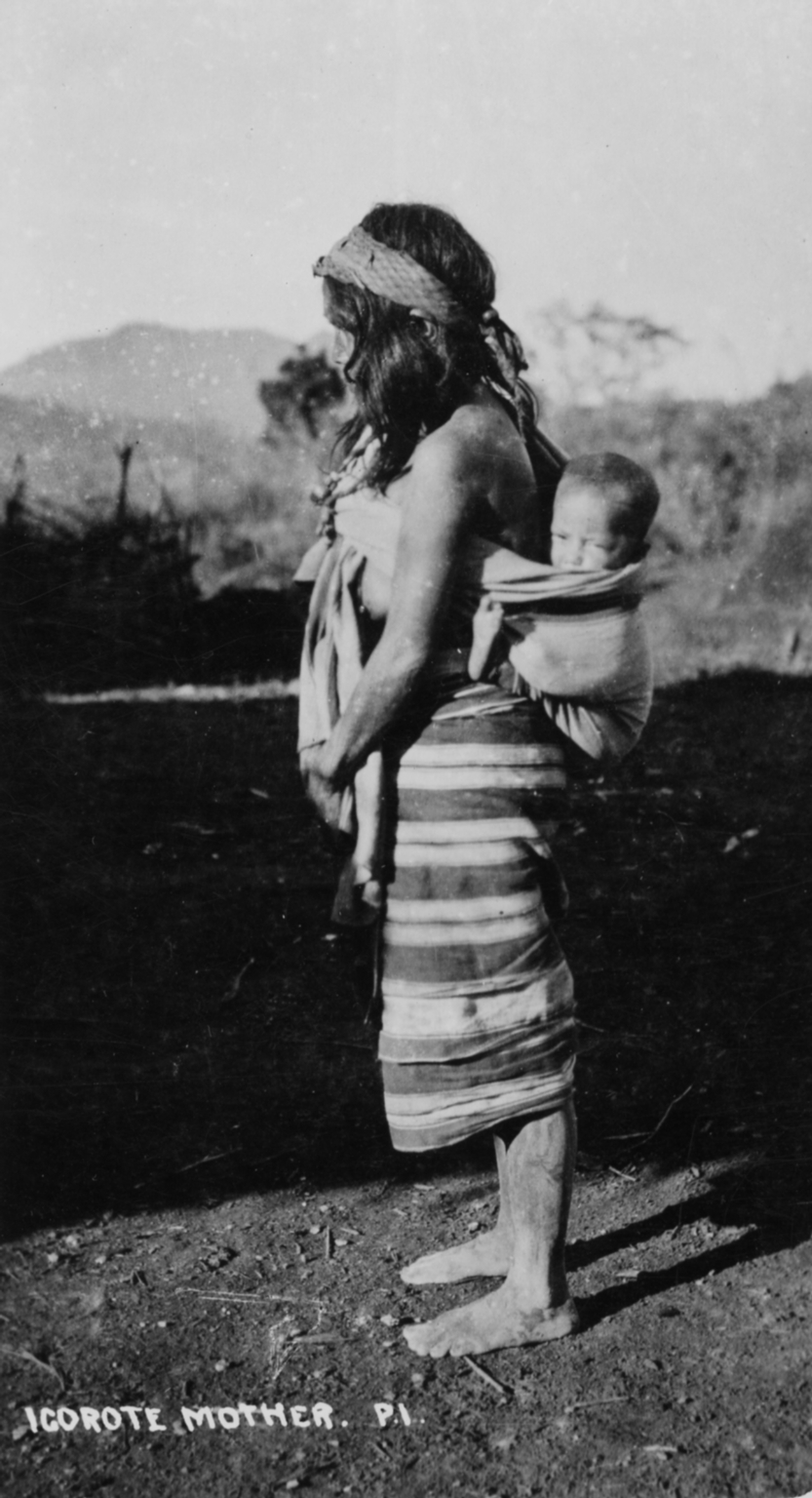 Igorot mother and child