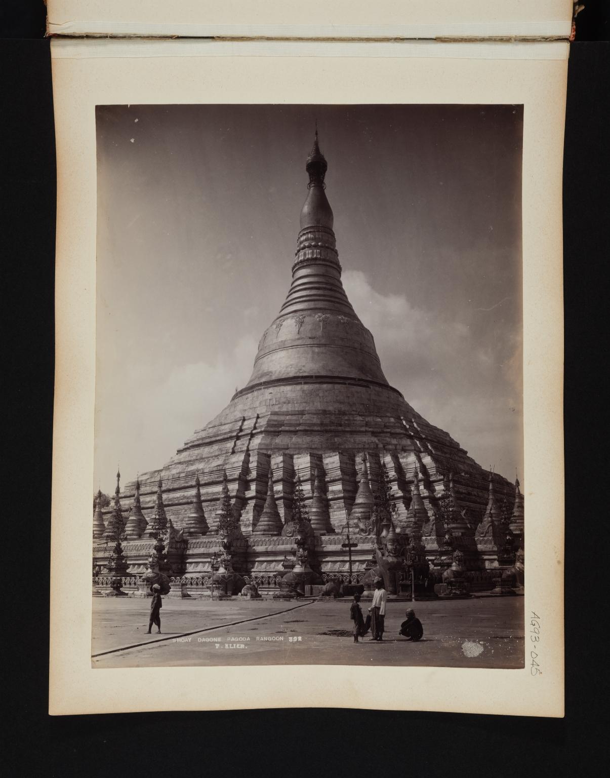 Shoay Dagone Pagoda.