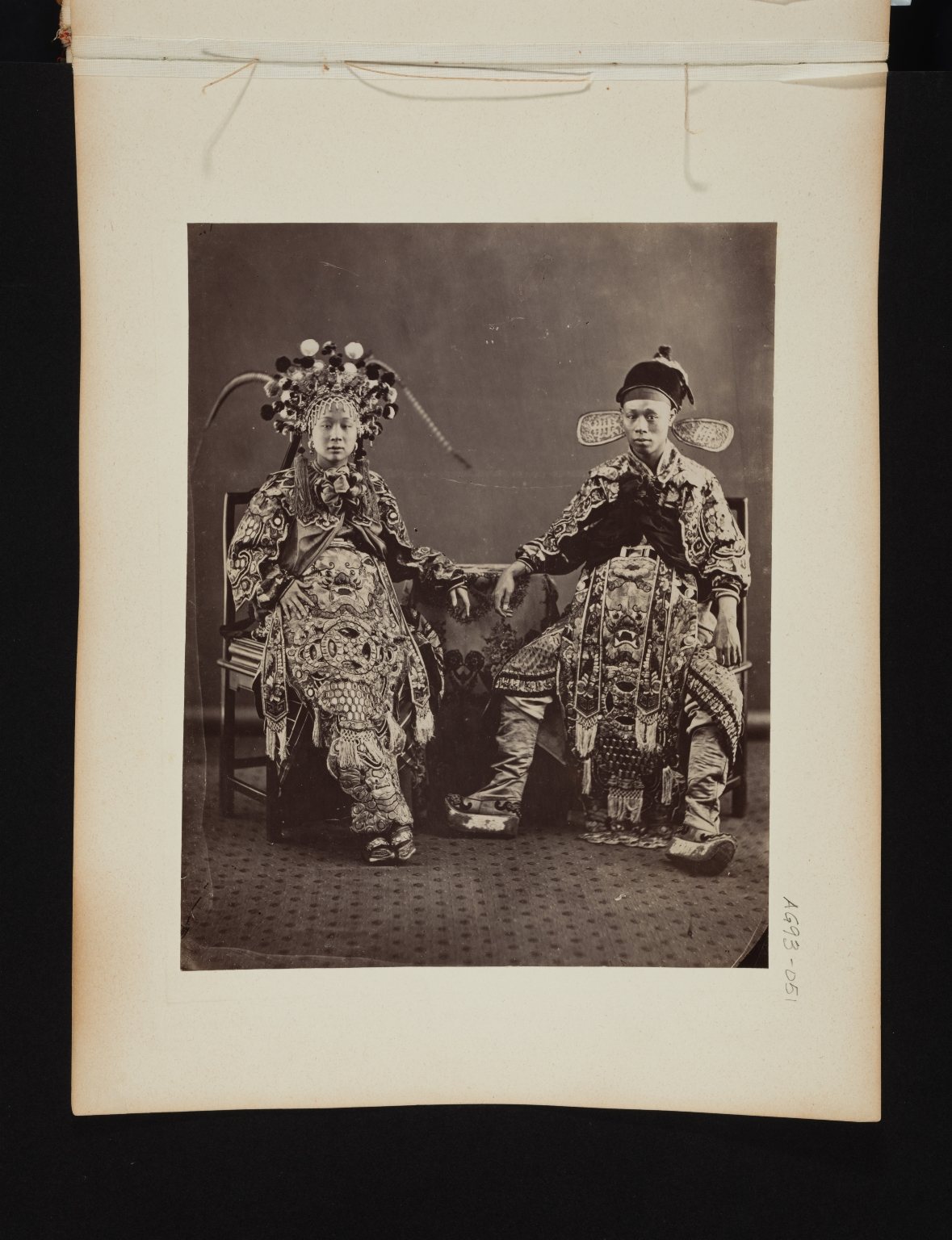 Portrait of a Seated Couple.