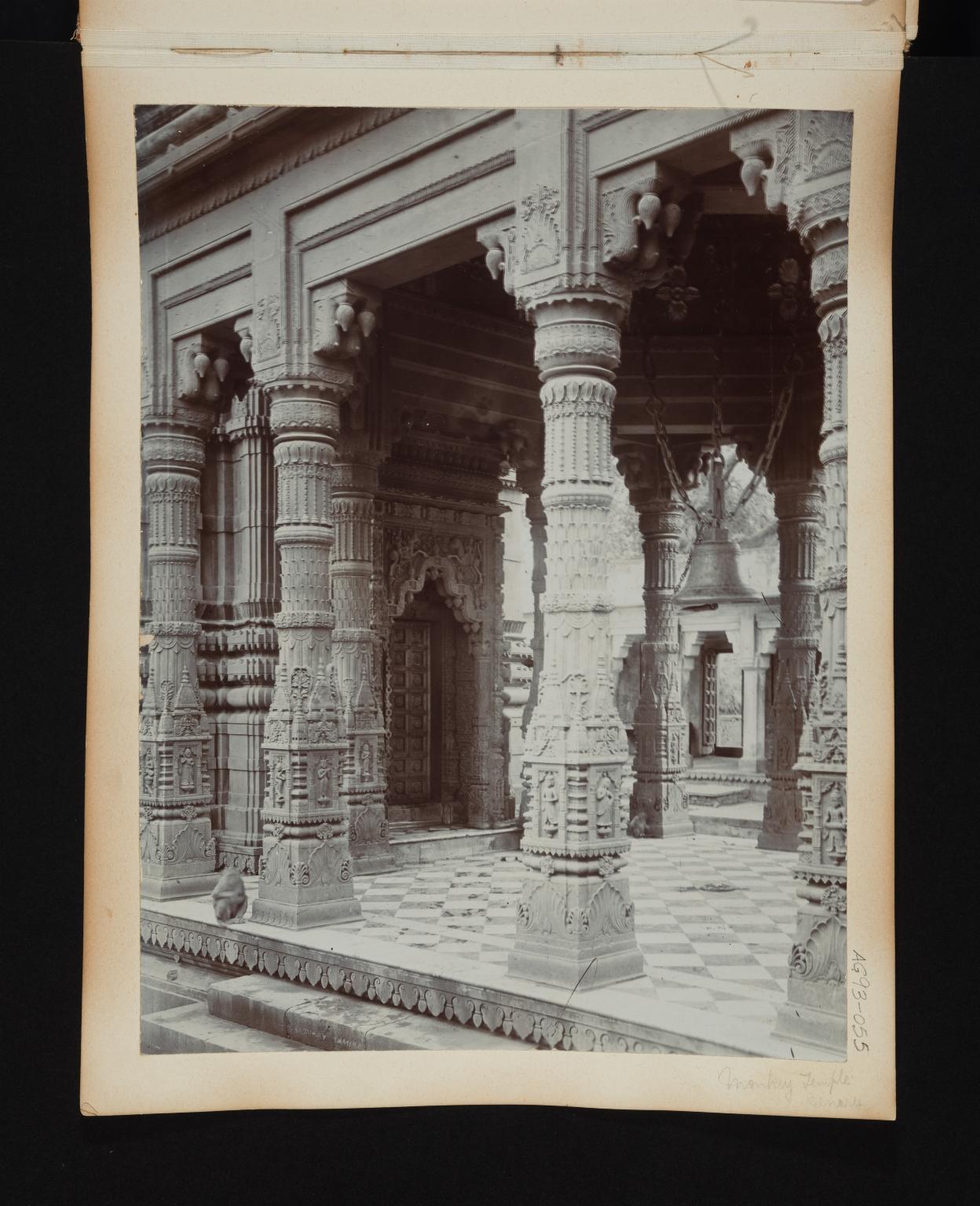Monkey Temple Interior.