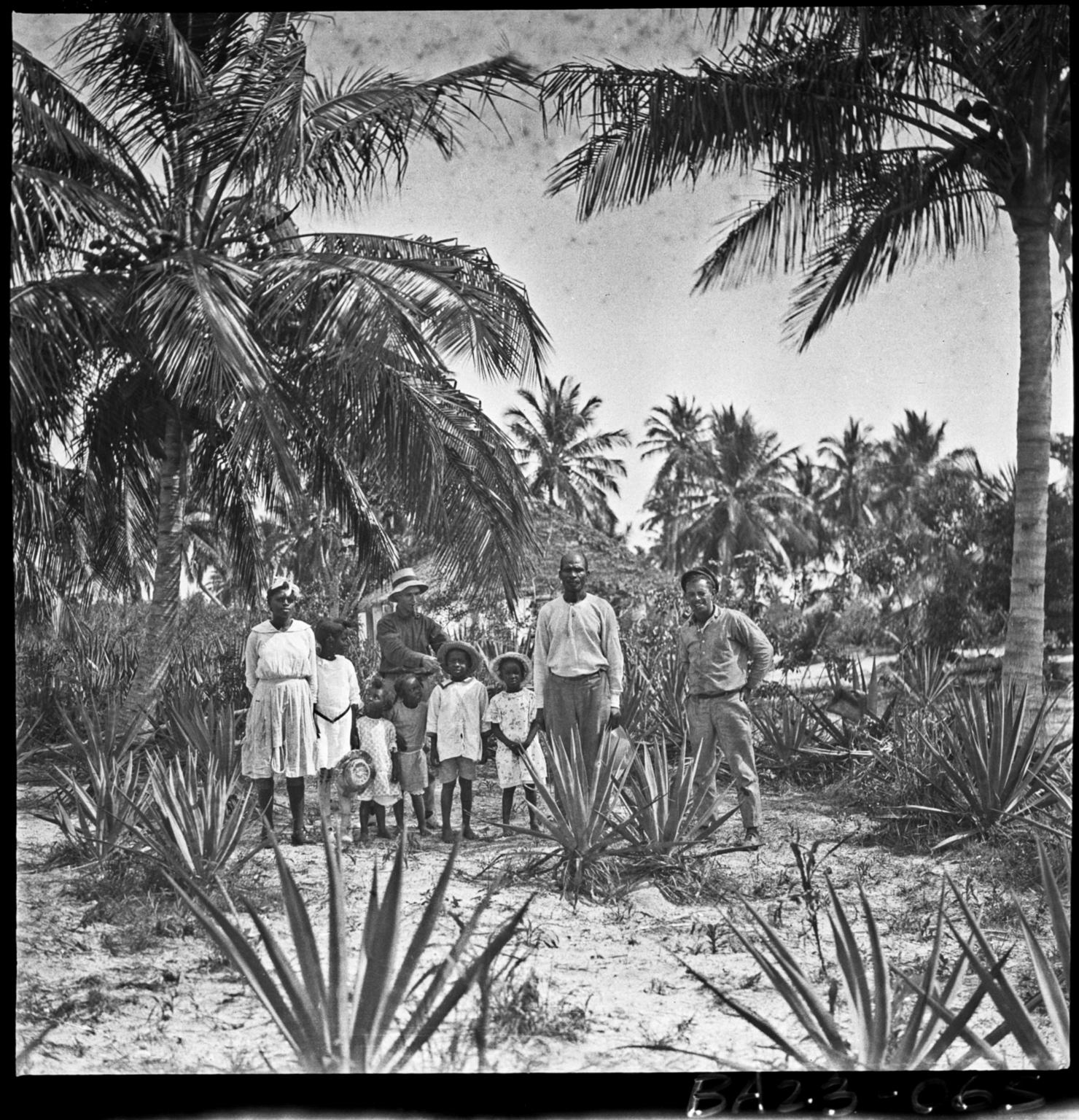 Alfred M. Bailey fieldwork in the Bahama Islands
