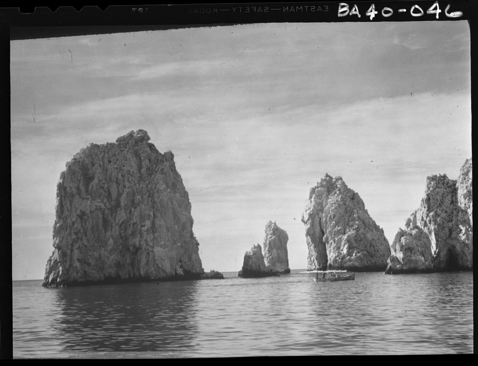 Fieldwork in Baja Islands, Mexico