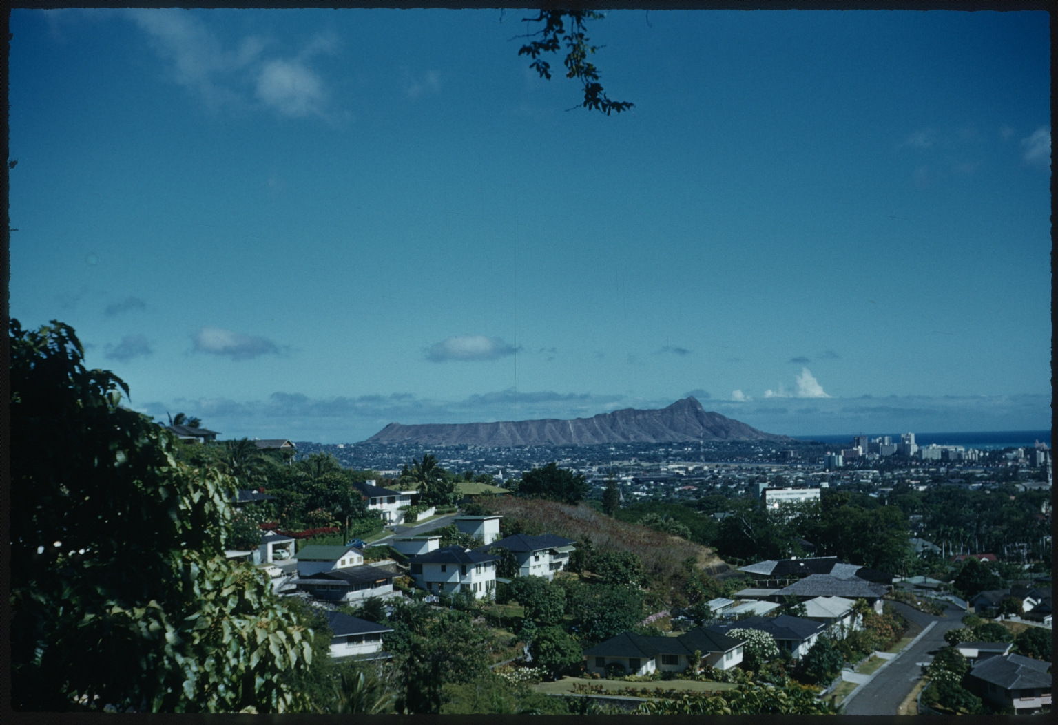 Honolulu and Diamond Head