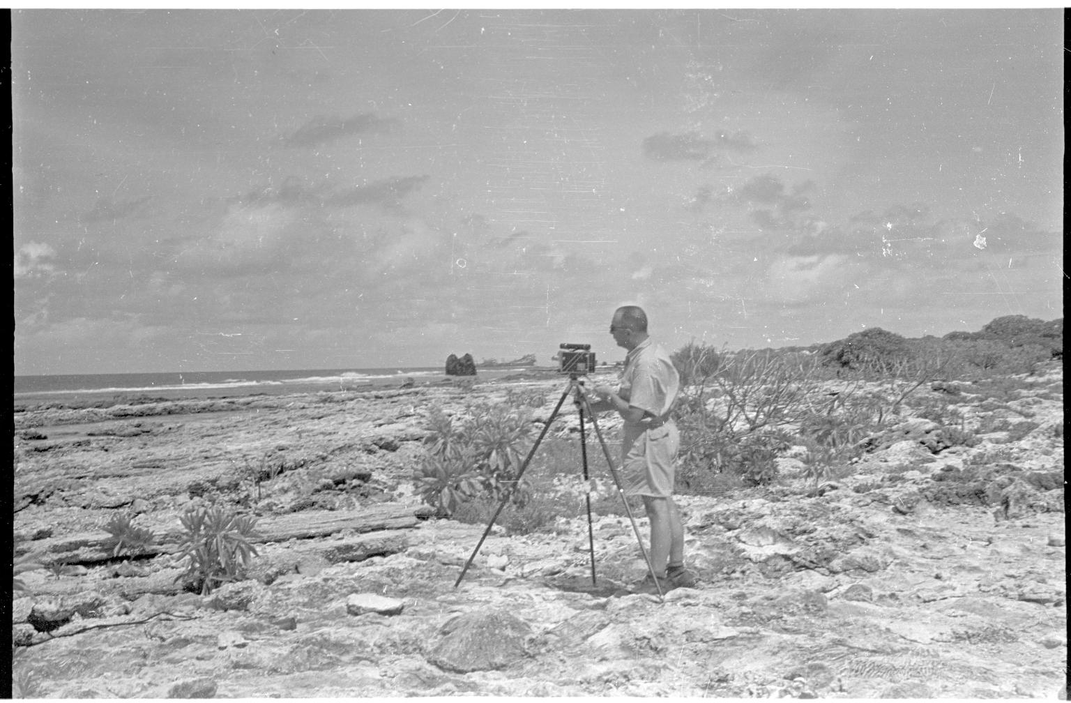 Fieldwork on Wake Island