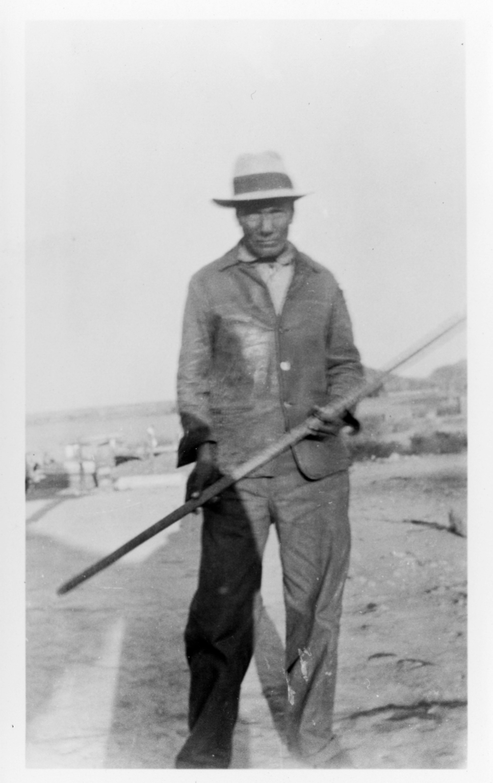 Unidentified Tohono O'odham Man