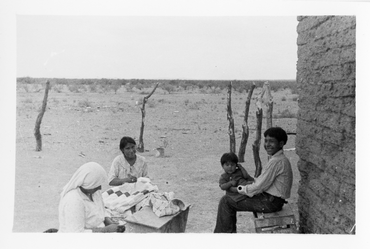 Tohono O'odham Women and Children